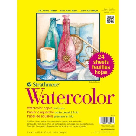 Strathmore - Watercolor Paper Pad 24 Sider - 361-9