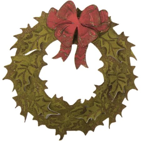 Sizzix Bigz - Tim Holtz - Layered Holiday Wreath - 662169
