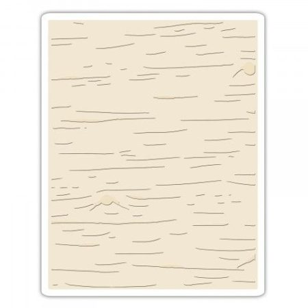 Sizzix Embossing folders – Tim Holtz - Birch - 662431