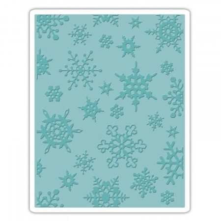 Sizzix Embossing folders – Tim Holtz - Simple Snowflakes - 662432