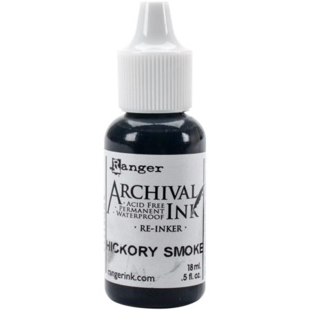 Design Tim Holtz - Archival Pad - Re-Inker - Hickory Smoke - ARD51114