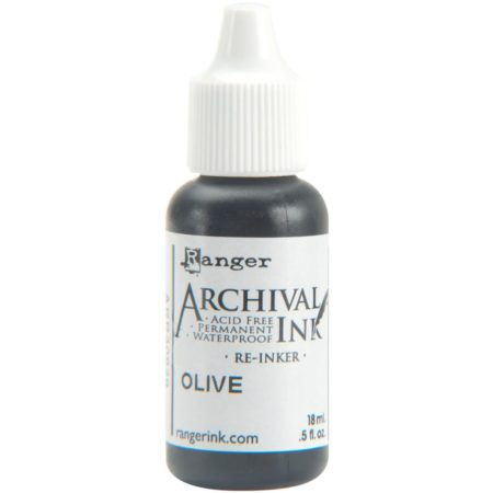 Archival Pad - Re-Inker - Olive - ARR30829