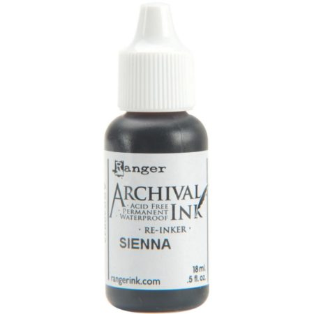 Archival Pad - Re-Inker - Sienna - ARR30843