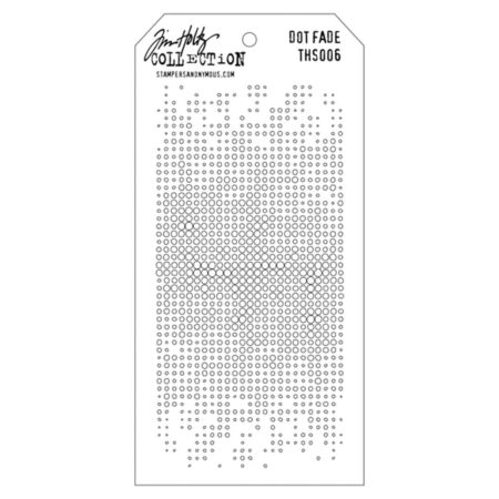 Tim Holtz - Layered Stencil - Dot Fade - THS006