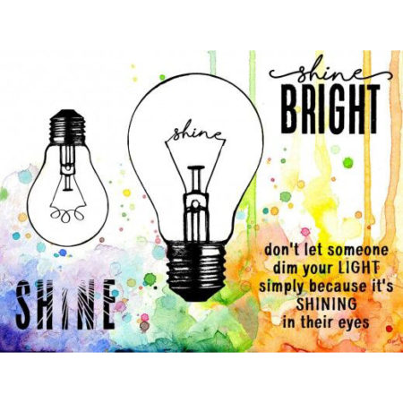 VISIBLE IMAGE - CLEAR STAMPS - Shining Bright - VIS-SHB-01