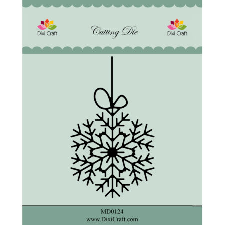 Dixi Craft Dies - Hanging Snow Crystal - MD0124