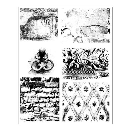 Prima - Finnabair Cling Stamps - Dirty Walls -962012