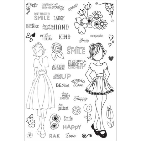 Prima - Julie Nutting Planner Clear Stamps - 911690
