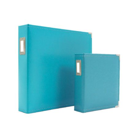Sn@p! Leather Binder - Teal - 4036