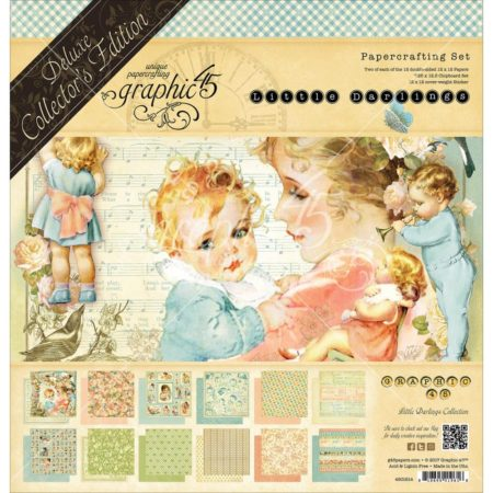 Graphic 45 - Deluxe Collector's Edition Pack - Little Darlings - 4501614
