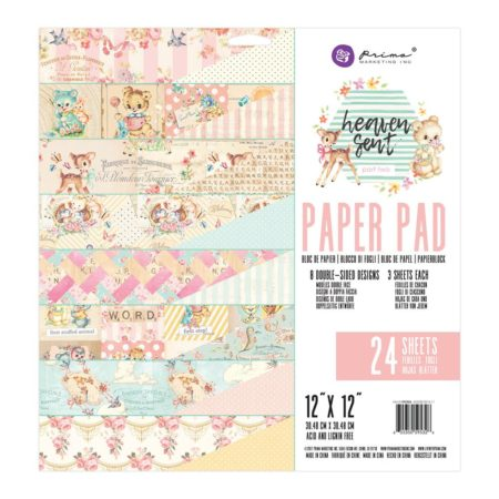 "Prima Paper Pad - Heaven Sent 2 Collection - 12""X12"" - 595326"