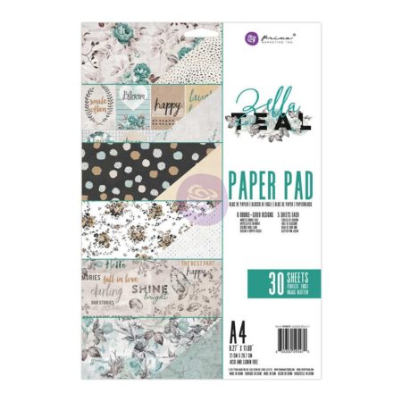 Prima Marketing - Zella Teal Collection - A4 - 5595470
