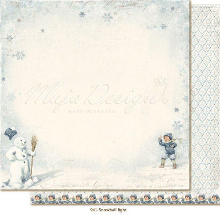 Maja Design - Joyous Winterdays - Snowball fight - 941