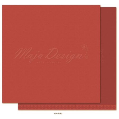 Maja Design - Monochromes - Shades of Winterdays - Red - 954