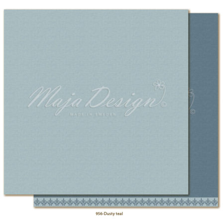 Maja Design - Monochromes - Shades of Winterdays - Dusty teal - 956