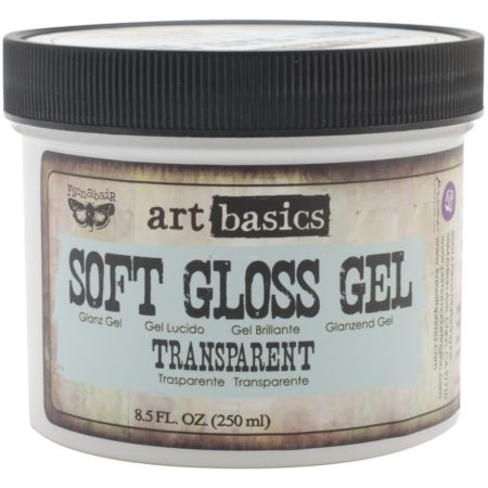 Prima Marketing - Art Basics Soft Gloss Gel - Transparent - 961435