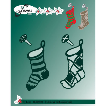 By Lene Dies - Christmas Socks - BLD1004