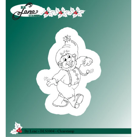 By Lene Stamps - Christmas Elves-3 - BLS1004