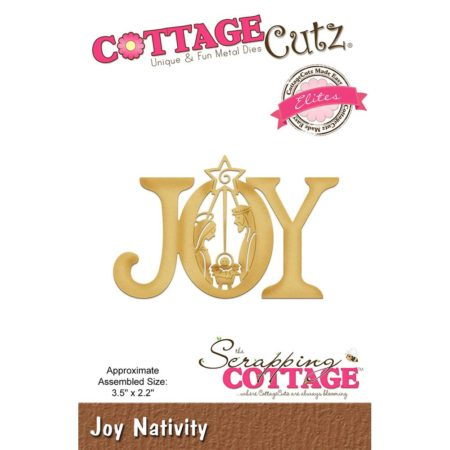 Cottage Cutz - Joy Nativity - CCE-475