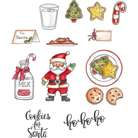 CottageCutz - Stamp & Die Set - Santa's Cookies - CCS-041