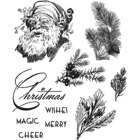 Tim Holtz -Cling Stamps set - Christmas Classic - CMS322