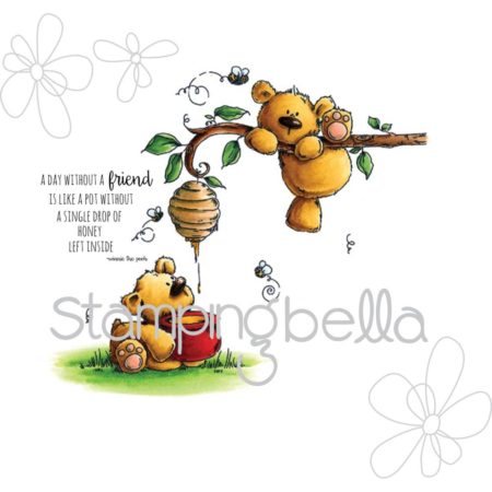 Stampingbella - Honeybear Stuffies - EB335