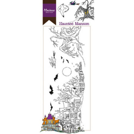 MARIANNE DESIGN STEMPEL - Haunted Mansion HT1627