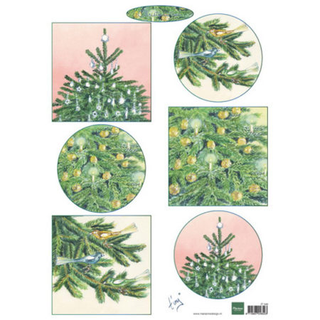 Marianne Design 3D ARK - Christmas Trees - IT598