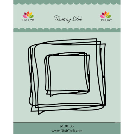 Dixi Craft Dies - Square Sketch - MD0133