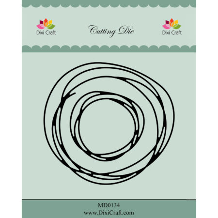 Dixi Craft Dies - Circle Sketch - MD0134
