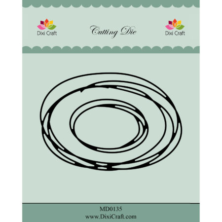 Dixi Craft Dies - Oval Sketch - MD0135