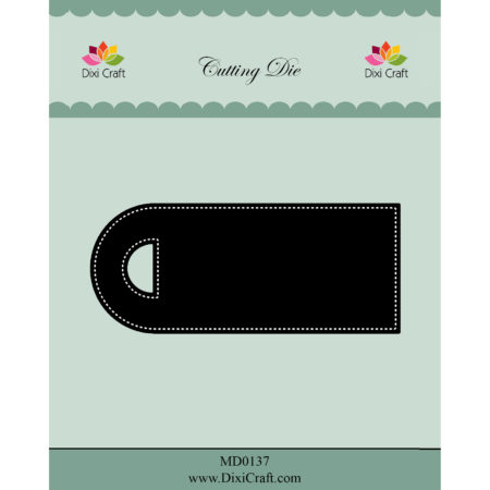 Dixi Craft Dies - Pierced Label - MD0137