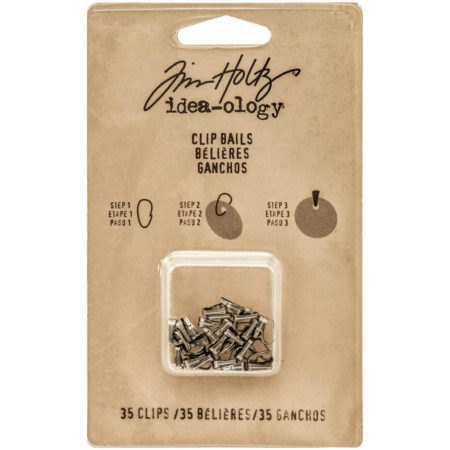 "Idea-Ology - Tim Holtz - Clip Bails .25"" - TH93292"