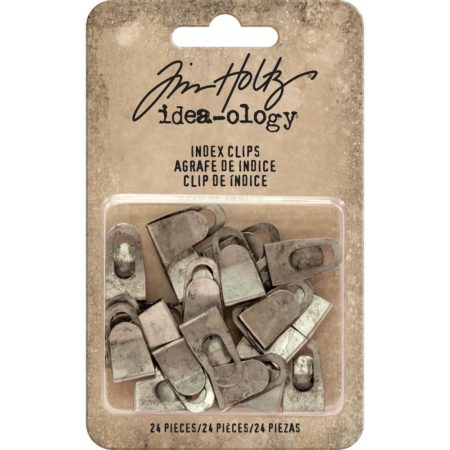 Idea-Ology - Tim Holtz - Index Clips - TH93574