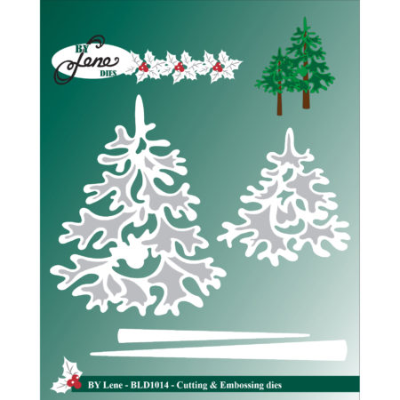 By Lene Dies - Christmas Trees - BLD1014