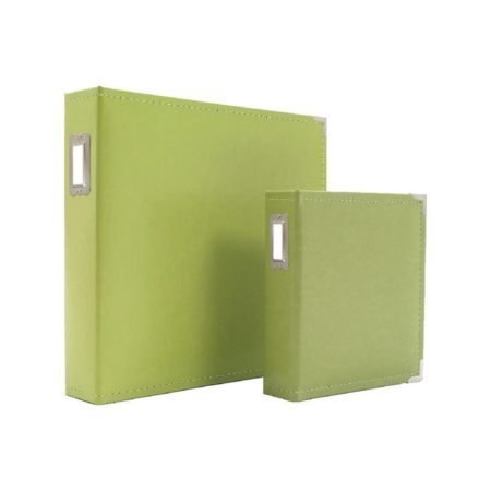 Sn@p! - Leather Binder - Green- 4038