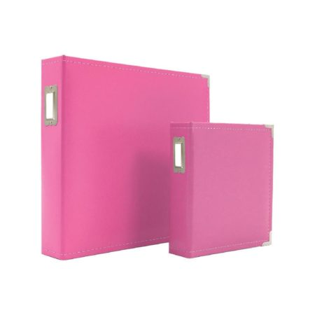 Sn@p! - Leather Binder - Pink - 4039