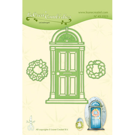 Leane - Die Cut & Embossing - Door - 45.3523