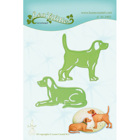 Leane - Die Cut & Embossing - Dogs - 45.3905