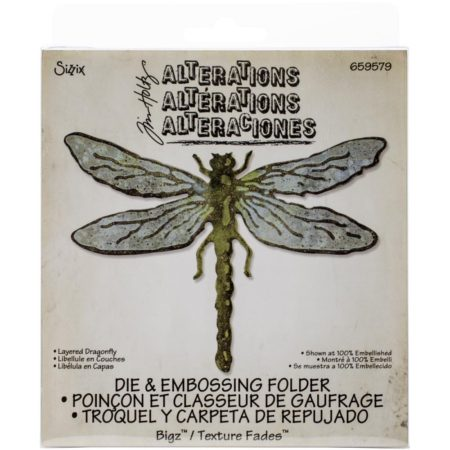 Sizzix Bigz - Tim Holtz - Layered Dragonfly - 659579