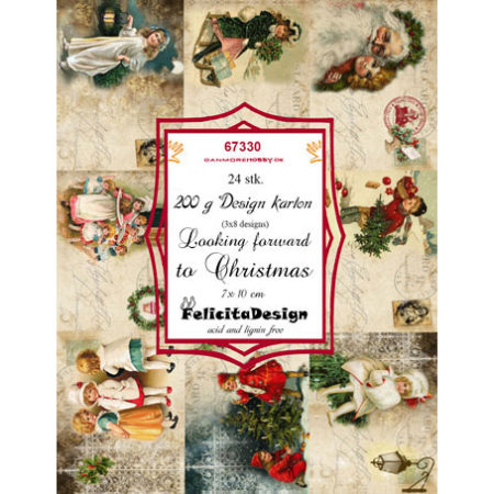 Felicita Design Toppers - Looking forward to christmas - 67330