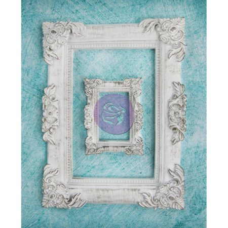Prima Shabby Chic Treasures Resin Embell - Baroque Frames - 892098