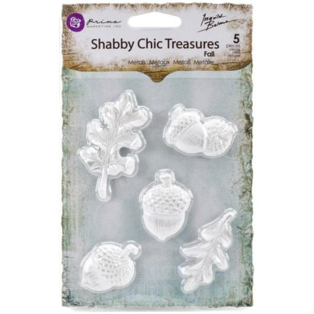 Prima Shabby Chic Treasures Resin Embell - Fall - 892548
