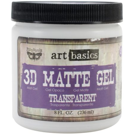 Finnabair Art Basics 3D Matte Gel 8 oz - 961398