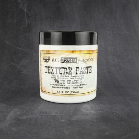 Prima - Finnabair Art Extra Texture Paste - White Crackle - 961503