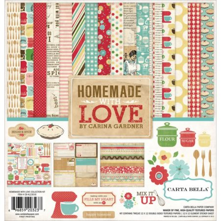 Carta Bella Collection Kit - Homemade With Love - CB-HL23016