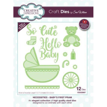 Creative Expressions - Baby´s First Pram - CED23007