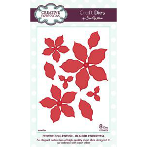 Creative Expressions - Classic Poinsettia - CED3008