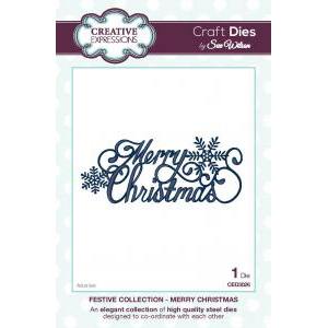 Creative Expressions - Merry Christmas - CED3026