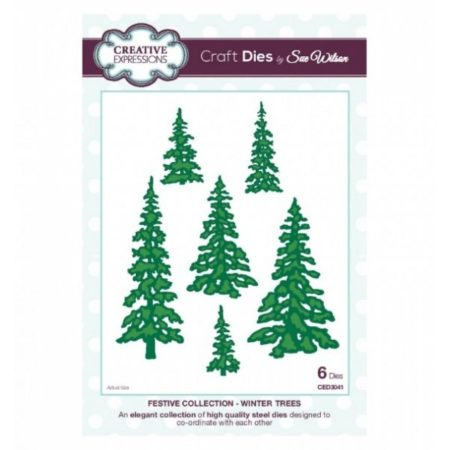 Creative Expressions - Winter Trees - CED3041